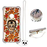 Case for ZTE N818S QLink Wireless Case Silicone Border + PC Hard backplane Stand Cover KL