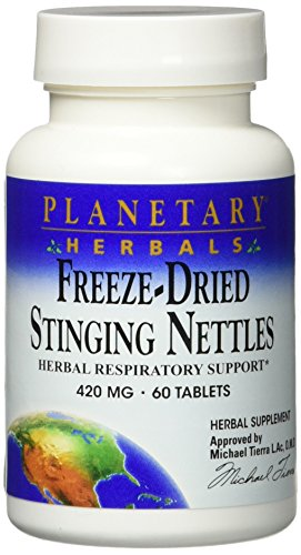 Freeze Dried Stinging Nettles Planetary Herbals 60 Tabs