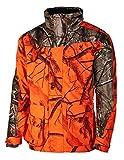 Browning Parka XPO One - Chaqueta de caza (aislamiento térmico), diseño de camuflaje, color naranja y verde, xxx-large