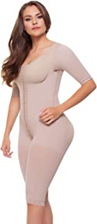Fajitex Fajas Colombianas Reductoras y Moldeadoras High Compression Garments After Liposuction Full Bodysuit 023700