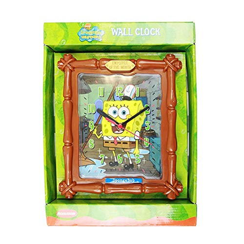 1 X Spongebob Squarepants Frame Wall Clock