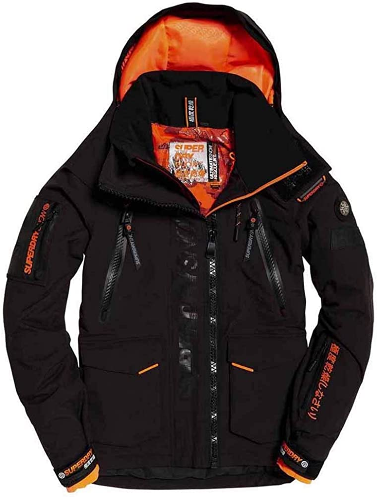 Superdry Ultimate Snow Rescue Onyx Black Xs Clothing