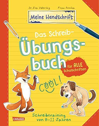 Das Schreib-Übungsbuch für alle Schulschriften: Schreibtraining mit Spaß für Kinder von 8-11 Jahren (Meine Handschrift)