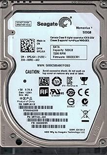 8.89/cm Seagate Enterprise st4000nm0134/ SAS 4000/GB 3.5/ /Serial Attached SCSI /Hard drive/ , 8.0/W, 5//–/60//°C, 40/G