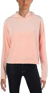 Women's Velour Hooded Pullover