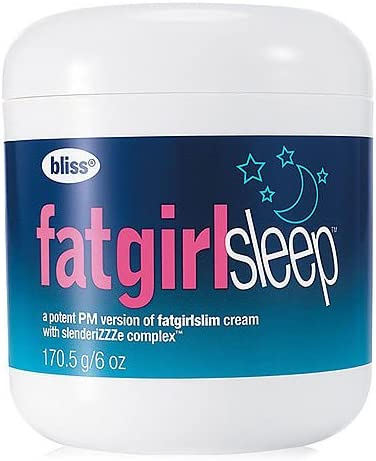 Bliss Fat Girl Sleep 6oz 170 5g Bath Body Slimming Firming product image