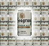 Seagram's Ginger Ale, 7.5 Fl Oz Mini Can (Pack of 18, Total of 135 Oz)