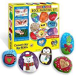 Creative Easter Basket Ideas - Rock Painting Kit