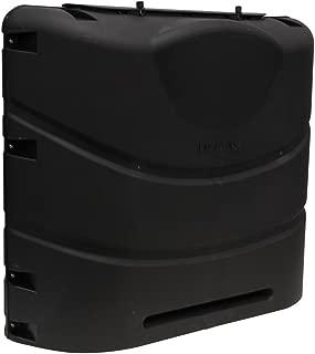 Camco 40539 Heavy-Duty 20lb or 30lb Dual Propane Tank Cover (Black)