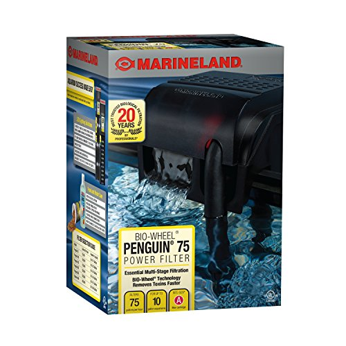 Marineland Bio-Wheel Penguin 75 Power Filter, 10-Gallon