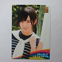 NMB48 トレーディングコレクション 【N071山本彩】ノーマルカード/ロケーションカード(Rainbow ver.)