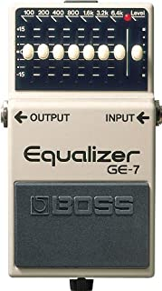 BOSS Seven-Band Graphic Equalizer Guitar Pedal (GE-7)