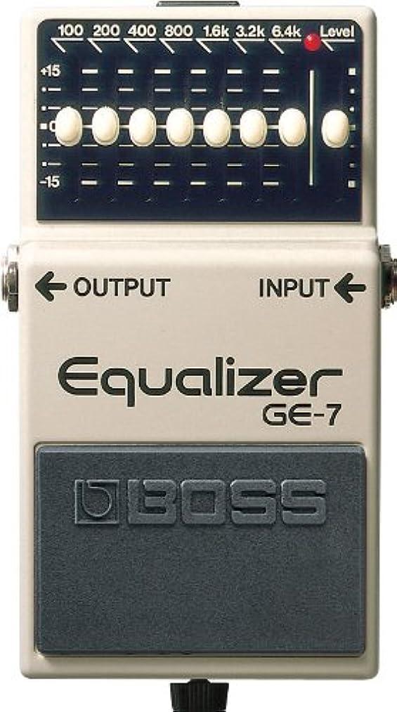 ケージ子供っぽい印象BOSS Equalizer  GE-7