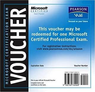 Best microsoft exam vouchers Reviews
