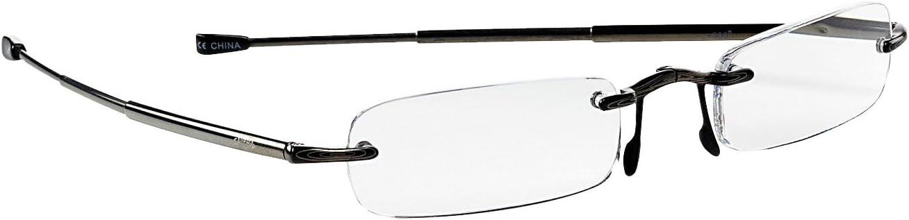 Selling Callaway Year-end gift R915-FB Scorecard Reader Glasses Black +1.5 Flip-top