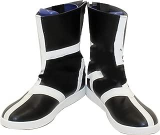 Mingchuan Whirl Cosplay Boots Shoes for Bleach Ulquiorra Cifer Short