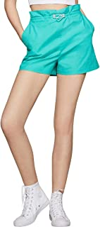 BCBGeneration womens PULL ON PAPERBAG SHORT Casual Shorts