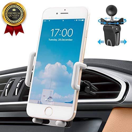 Gsm-houder Auto Avoalre gsm-houder voor in de auto Gsm-houder auto-ventilatie ventilatie gsm-autohouder [360 graden] Compatibel met telefoon Samsung Galaxy LG Nexus Sony HTC Motorol Golf 6 en meer