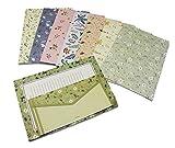 32 Sweet Floral Briefpapier mit 16 Umschlägen