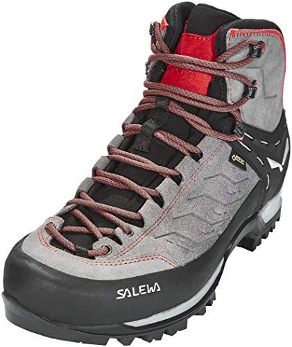 Salewa Herren MS Mountain Trainer Mid Gore-TEX Trekking- & Wanderstiefel, Charcoal/Papavero, 46 EU