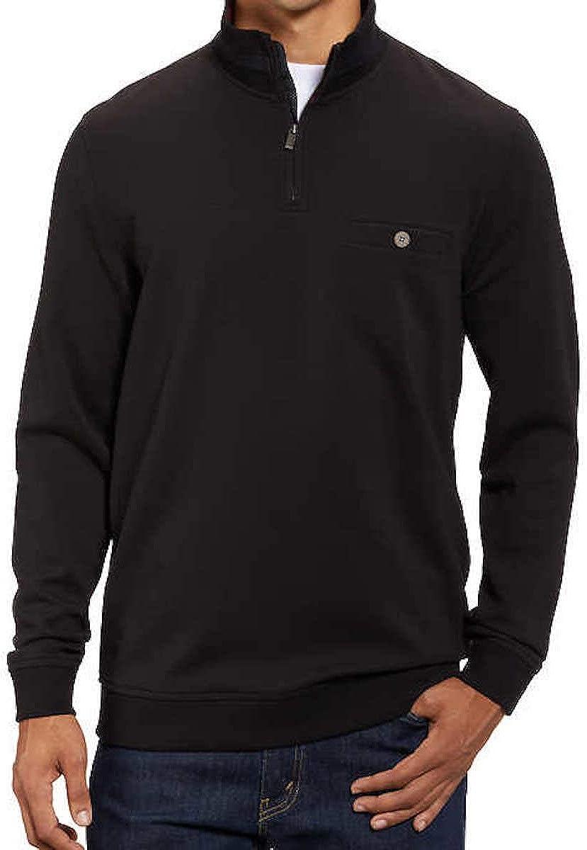 Kirkland Signature Men's Long Sleeve 1/4 Zip Pullover