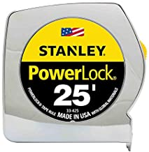 Stanley 33-425 25-Foot by 1-Inch Measuring Tape, 4 Pack