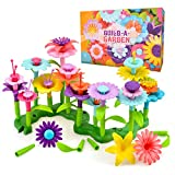 Toys for Kids Girl Age 3 4 5, Flowers Toys Set Gifts for 3-7 Year Old Kid Girls Birthday Gift Present for 4 5 6 7 8 Year Old Toddler Kid Educational Crafts Garden Building Toys for Kids Toddler Child