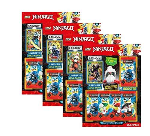 Blue Ocean Lego Ninjago - Serie 5 Trading Cards alle 4 Multipacks