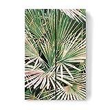artboxONE Holzbild 30x20 cm Natur Palms-II von Künstler Uma Gokhale -