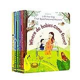GonFan Los Libros para niños Inglés Libro ilustrado for niños y bebés Ilustración de cartón Book Reader Preguntas y Respuestas Ciencia de Bolsillo (Color : Multi-Colored, Size : 22.4x20cm)