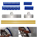 Fanny Paintless Dent Removal Puller Tabs Teeth Tools Kit with Glue Sticks for Big Dent Repair of Car Body Hail Damage