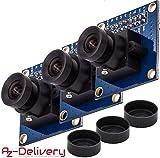 AZDelivery 3 x Kamera für Arduino OV7670 300KP VGA-Kamera