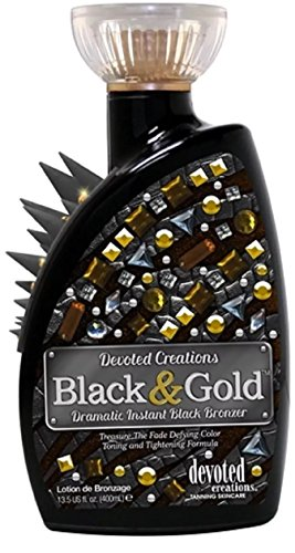 Devoted Creations BLACK & GOLD Instant Black Bronzer - 13.5 oz.