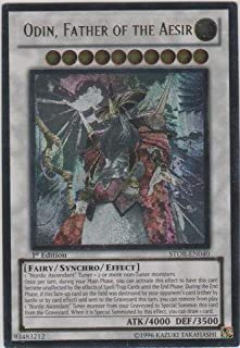 Yu-Gi-Oh! - Odin, Father of The Aesir (STOR-EN040) - Storm of Ragnarok - 1st Edition - Ultimate Rare