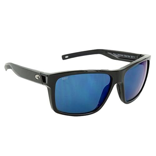 b720caba47 Amazon.com   Costa Del Mar Costa Del Mar SLT11OBMP Slack Tide Blue Mirror  580P Shiny Black Frame Slack Tide