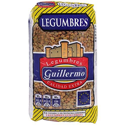 Guillermo Lentejas Castellanas Legumbres Calidad Extra 1000 g