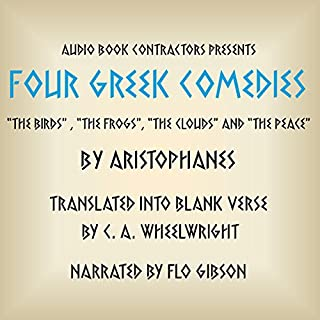 Four Greek Comedies audiobook cover art