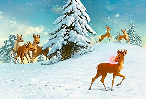 Puzzle 1000 piezas Cartel navideño pintura serie 112 arte regalo puzzle 1000 piezas animales educativo divertido juego familiar para niños adultos Rompecabezas educativo de ju50x75cm(20x30inch)
