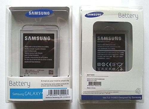 Batteria originale Samsung EB-L1G6LLU, EB-L1G6LLUC, EB-L1G6LVA, EB-L1H2LLU in blister sigillato, garanzia europea, per Samsung Galaxy S3 i9300, Galaxy LTE i9305, i9308, Galaxy S3 Neo i9301, Galaxy Grand Neo i9060, Galaxy Grand Neo Plus i9060i