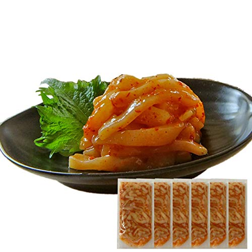 敬老の日 ギフト イカキムチ60g×6袋 ヤマキ食品 イカ屋荘三郎