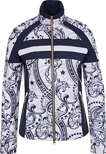 Sportalm Damen Sweatjacke Größe 40 EU Weiß (weiß)