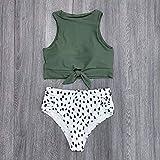 YSDSBM Badeanzug mit Spitze, Bikini für Damen, Push-Up-Bikini, Gca181030a1, M