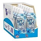Vernel Fresh Control - Suavizante para lavadora con neutraliza los olores, frescor glacial, 336 lavados, 750 ml