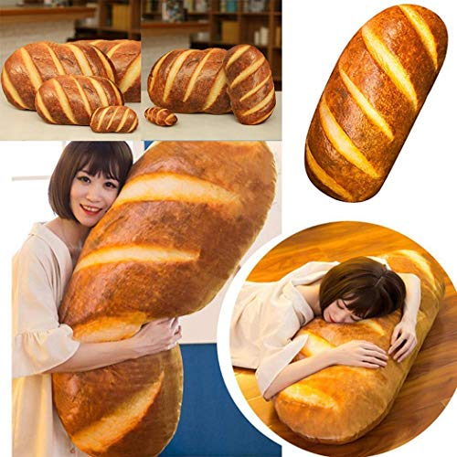 3D HD Prints Butter Bread Shape Pillow $17.99 (80% Off with code)