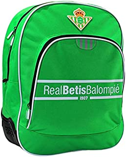 4208436 Real Betis Mochila Tipo Casual, 42 cm, 1 litro, Verde