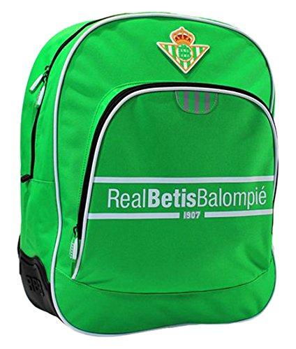 Seva 4208436 Real Betis Mochila Tipo Casual, 42 cm, 1 litro, Verde