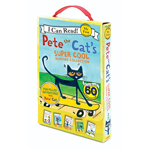 Pete the Cat s Super Cool Reading Collection: 5 I Can Read Favorites! (My First I Can Read)