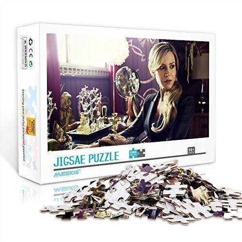 WJHXYD Rompecabezas para Adultos 300 Piezas Defiance imágenes de películas Juegos Diversión Familiar Rompecabezas de Piso Juguetes educativos para niños 38x26cm
