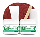 Tub, Tile and Shower Repair Kit, 3.5oz Waterproof Porcelain Repair Kit, Tub and Tile Refinishing Kit, Non-toxic and Odorless Bathtub for Tubs, Toilet, Porcelain, Sink Crack (Porcelain White)