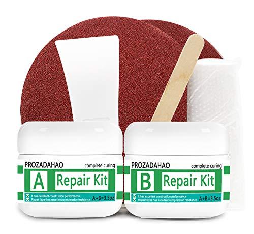 Tub, Tile and Shower Repair Kit, 3.5oz Waterproof Porcelain Repair Kit, Tub and Tile Refinishing Kit, Non-toxic and Odorless Bathtub for Tubs, Toilet, Porcelain, Sink Crack (Porcelain White)